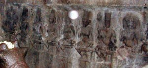 The frieze of Sapta-matrika, Malayadippatti