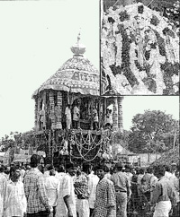 Ther (தேர்) festival, Viralimalai