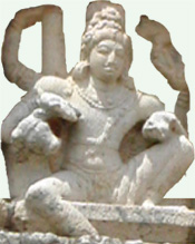 Siva in sitting pose
