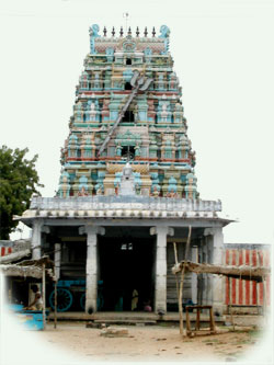 The Mariamman temple, Narttamalai