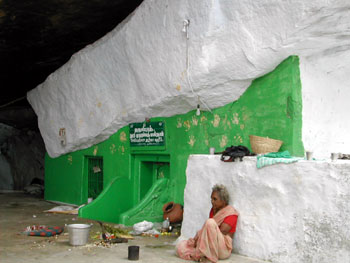 The tomb of Mohammad Masthan, Narttamalai