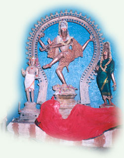 Nataraja with his consort, Gokarnesvara temple, Pudukkottai