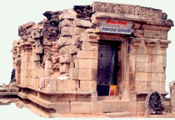 The temple, where the queen performed 'sathi', Pudukkottai