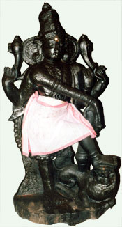 Dvara-palaka of Bhanu-uma-pathisvara shrine, Thirumayam